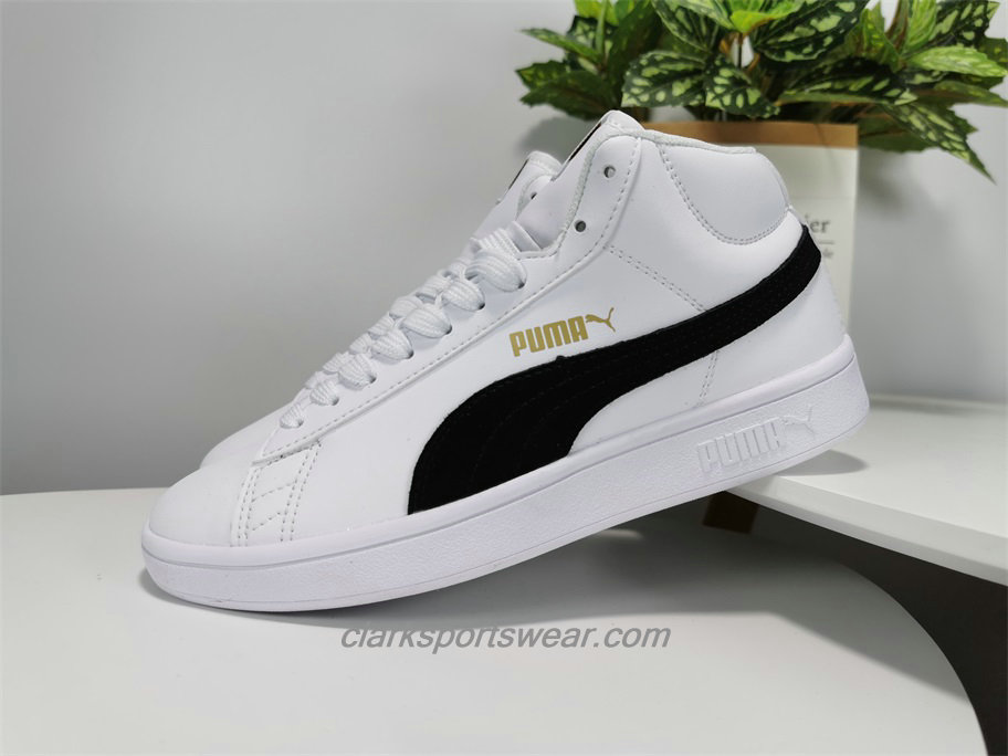 Scarpe Puma 1948 Mid High Tops Leather Bianca / Nero