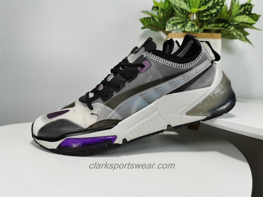 Scarpe Puma LQDCELL Optic Sheer Bianca / Nero / Viola